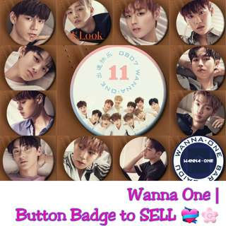 Wanna One Button Badge for sale