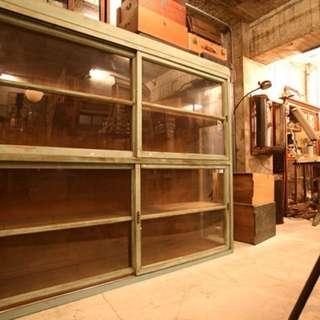 檜木展示櫃 柑仔店