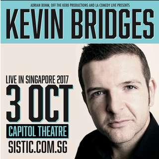 2 Row C Kevin Bridges Tix - Capitol Theatre 3rd Oct