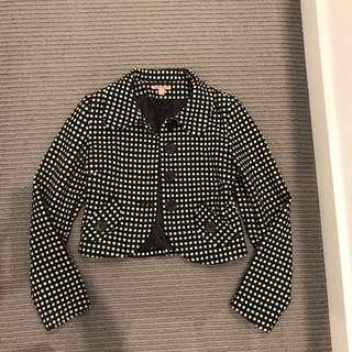 Polka dot jacket size 8