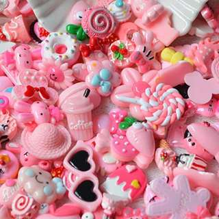 Pink charms