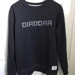 Diadora Black Jumper