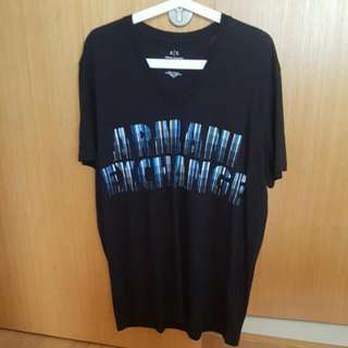 Armani exchange AX V neck t shirt