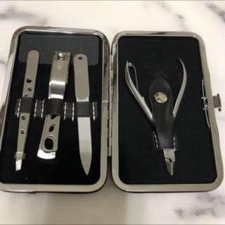 NBA指甲刀修眉刀組合