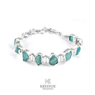 Aquamarine Artisan Bracelet