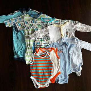 Used Baby Boy Combo 3 To 6 Mths