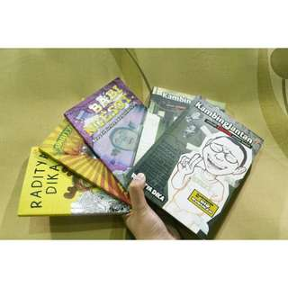 Take all Raditya dikas's books