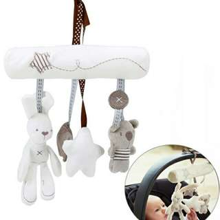 Pre order Rabbit musical hang toy