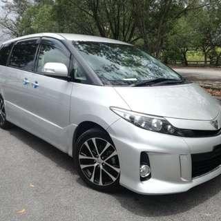 Full Loan 2013 Toyota Estima 2.4 Aeras