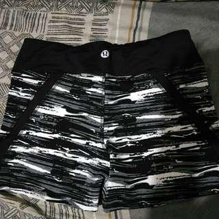 lululemon shorts, zumba shorts, volleyball shorts or cycling.