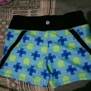 lululemon shorts, zumba shorts, vollyball shorts or cycling.