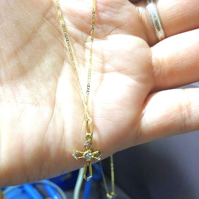 18K SaudiGold Necklace!