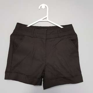 Glassons Black Shorts