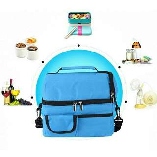 Lunch Bag Thermal Insulation Cooler Bag tas bekal