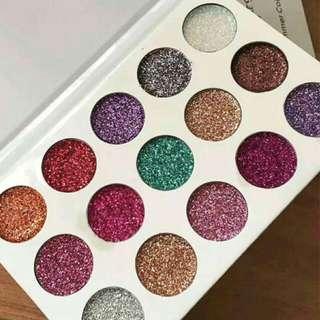 INSTOCK Glamierre glitter unicorn palette