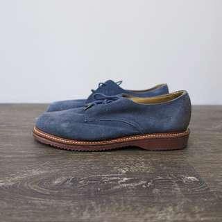 Dr Martens 馬丁大夫 藍色 麂皮 皮鞋|US8