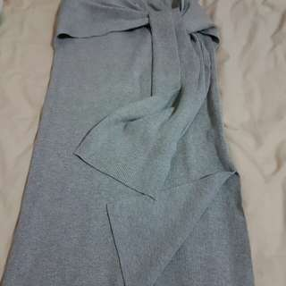Dotti knitted skirt (grey)