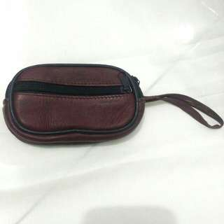 Genuine Leather Card And Coin Wallet