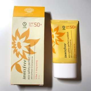 NEW Innisfree Eco Safety Perfect Sunblock