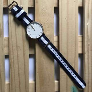 DW WATCH BAND: CLASSIC GLASGOW 18mm ROSE GOLD