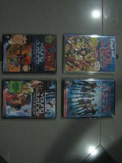 YOUNG JUSTICE COMPLETE SERIES DVD MOVIE TITLES