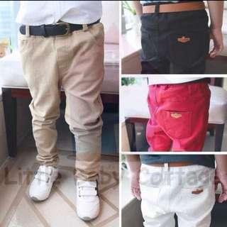 Ready Stock Size 100 Khaki Cargo Pant