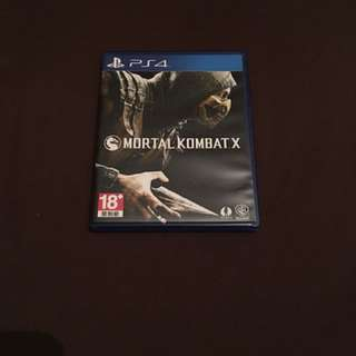 Mortal Kombat X PS4