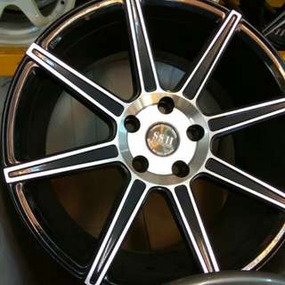 "17"" x 5 hole SSII new sport rim"