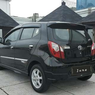 Toyota AGYA TRD S 1.0 AT 2014 hitam