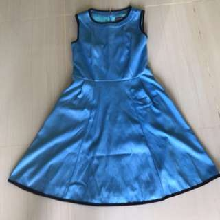Coco kellen blue dress