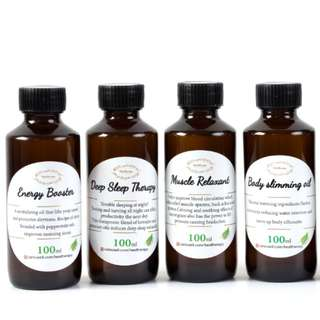 100ml ESSENTIAL BODY OILS