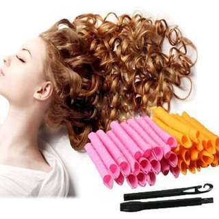 Hair Spiral curlers