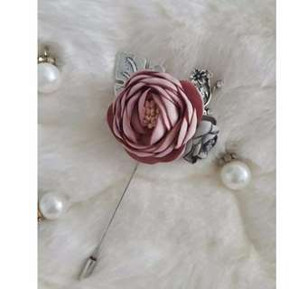 Lapel Pin Suit/Flower Stick