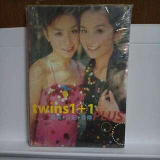Twins1+2 寫真+日記+自傳PLUS