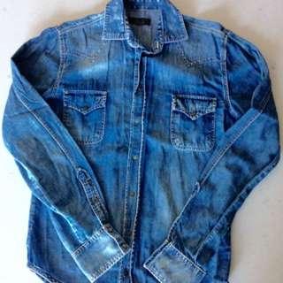 Blue Demi Shirt
