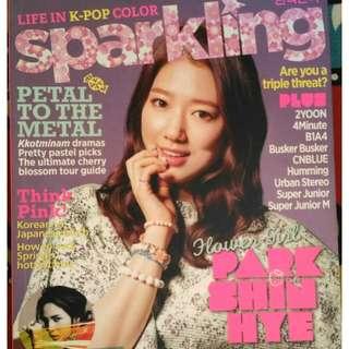 Park Shin Hye & 2PM (Sparkling Magazine)