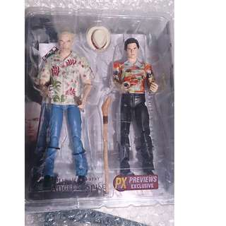buffy the vampire slayer figure - angel and spike Hawaiian shirt