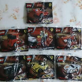Shell V-Power LEGO Ferrari 2012 Collection - 7 Set