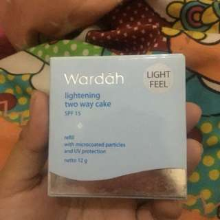 Wardah lightening two way cake ( reffil )