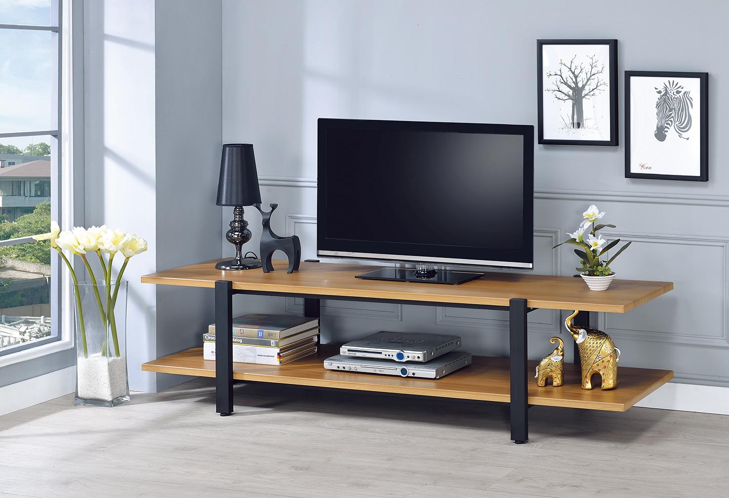 工業風6尺電視櫃W101-1.