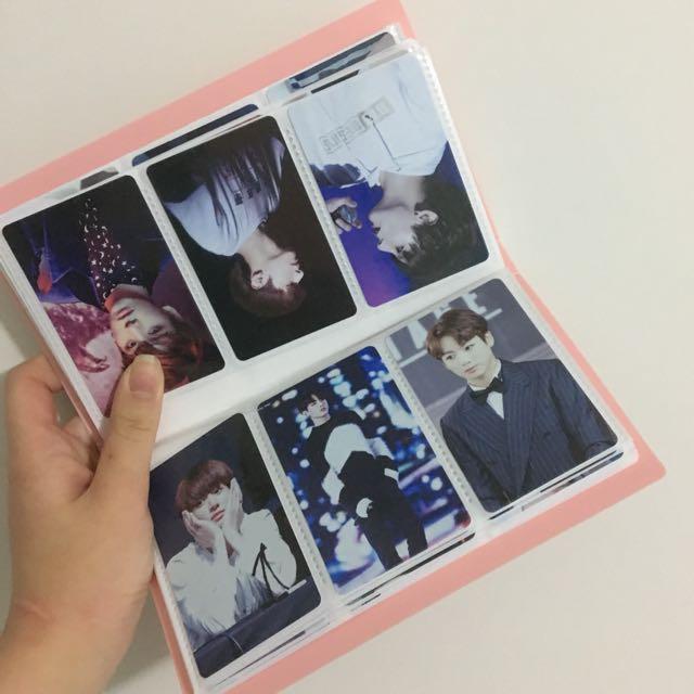 80 Jungkook Fansite Photocards / Lomos