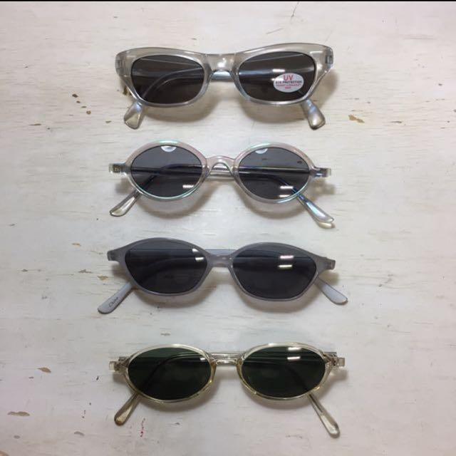 90's sunglasses 復古墨鏡 太陽眼鏡
