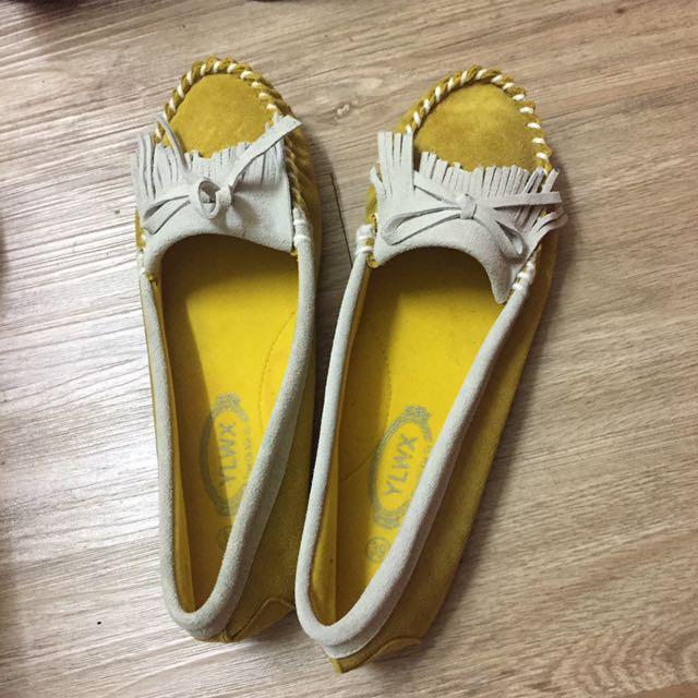 莫卡辛娃娃鞋