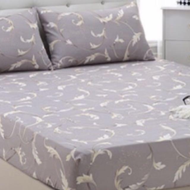 全新天絲雙人一般.加大.特大床包三件組(台灣製)