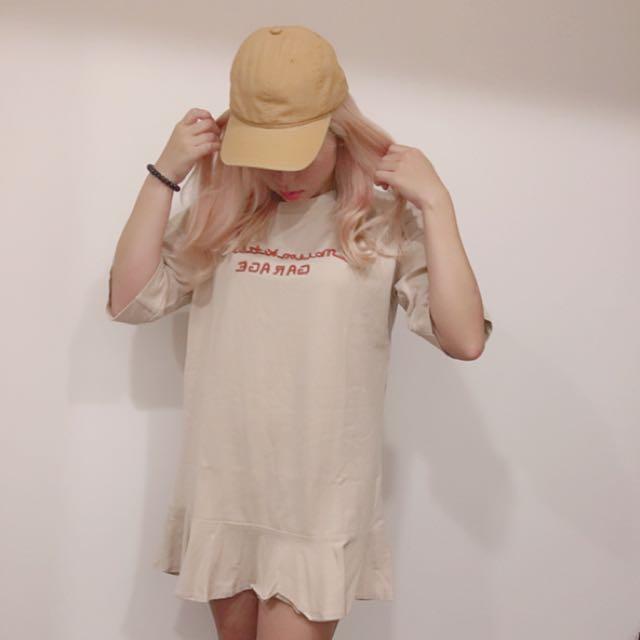 魚尾裙 (米黃色)