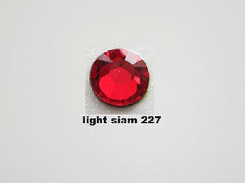 燙石 - ss16 Swarovski #2038 施華洛世奇 Light Siam (227) 大紅 平底燙石 1440原裝封包 包平郵