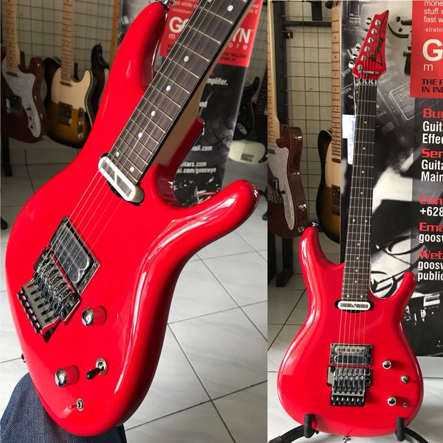 ** BRAND NEW !! ** IBANEZ JS2480 MCR JOE SATRIANI SIGNATURE MODEL WITH SUSTAINER MUSCLE CAR RED MADE IN JAPAN