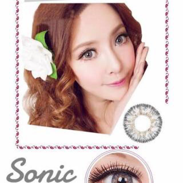 NEW SOFTLENS DREAM COLOR SONIC - grey