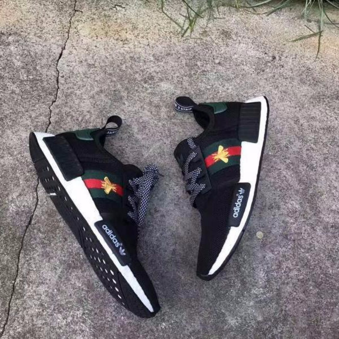 Custom Gucci x Adidas NMD | Sneakers in 2019 | Gucci, Adidas