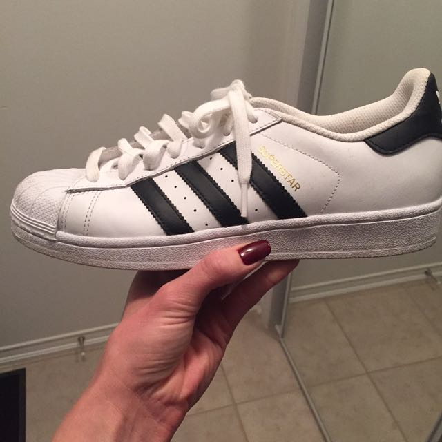 Adidas Superstars, size 9